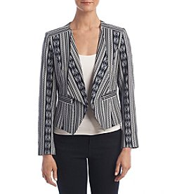 Nine West® Wing Kiss Lapel Jacket