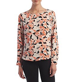 Nine West&rg; Printed Blouse