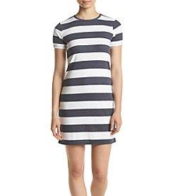 MICHAEL Michael Kors® Rugby Stripe T-Shirt Dress