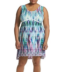 Oneworld® Plus Size Printed Dress