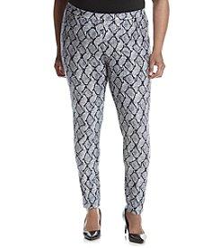 MICHAEL Michael Kors® Plus Size Graphic Mamba Leggings