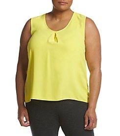 Kasper® Plus Size V-neck Blouse