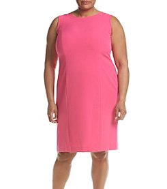 Kasper® Plus Size Crepe Sheath Dress