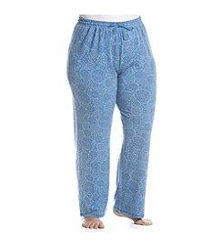KN Karen Neuburger Plus Size Medallion Printed Pants