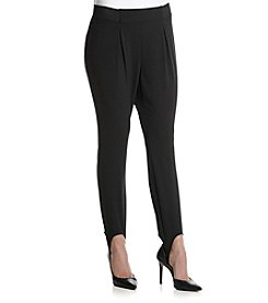 Relativity® Ponte Stirrup Pants