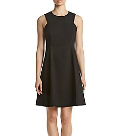 Calvin Klein Sheath Flared Dress