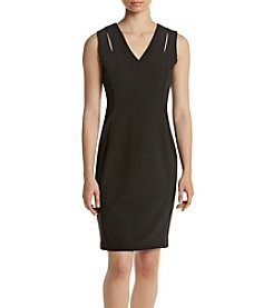Calvin Klein Cut Out Zip Back Dress