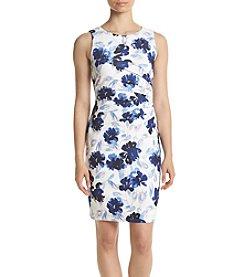 Ivanka Trump® Side Seamed Floral Dress