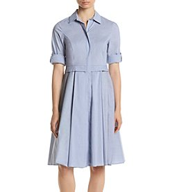 Ivanka Trump® Flared Shirt Dress
