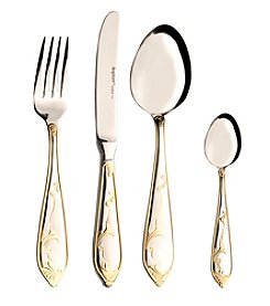 BergHoff® 72-Pc. Isabella Flatware Set