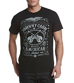 Bravado Men's Johnny Cash American Rebel Graphic Tee