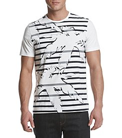 Michael Kors® Men's Stripe Palm Graphic Tee