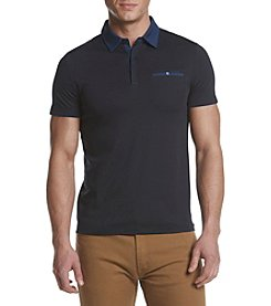 Calvin Klein Men's Liquid Cotton Jersey Polo