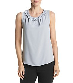 Nine West® Ruffle Neck Cami