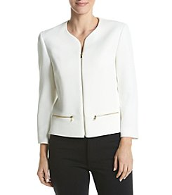 Nine West® Zip Front Jacket