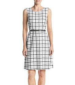 Nine West® Plaid Dress