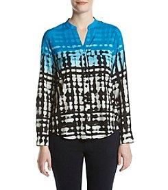 Calvin Klein Ombre Printed Blouse