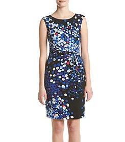 Anne Klein® Pleated Twist Dress