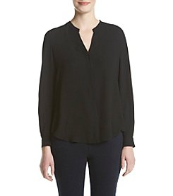 Anne Klein® V-Neck Blouse