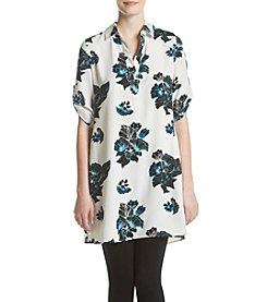 Chelsea & Theodore® Floral Tunic Blouse