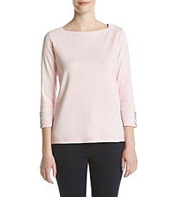 Rafaella® Boatneck Top