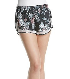 Charmed Hearts® Floral Performance Shorts