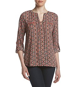 Sequin Hearts® Lace-Up Utility Shirt