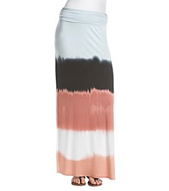 Sequin Hearts® Tie-Dye Stripe Maxi Skirt