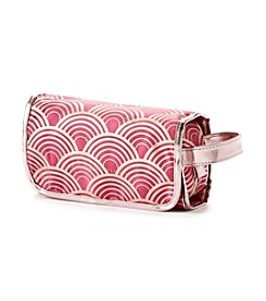Tricoastal Contrasting Curve Hanging Cosmetic Bag by Adrienne Vittadini