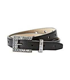 Fashion Focus Flip Tip Perforated Belt