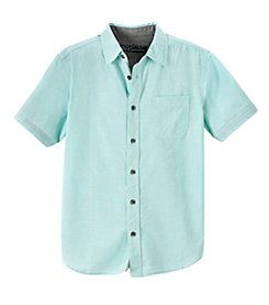 Distortion® Boys' 8-20 Textured Button Up