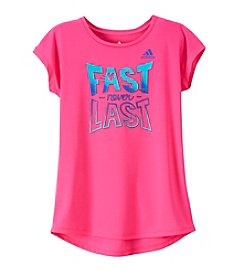 adidas® Girls' 7-16 Fast Never Last Rise Above Top