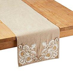 Living Quarters Embellished Table Runner
