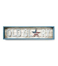 LivingQuarters Americana Old Glory Wall Art
