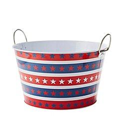 LivingQuarters Americana Beverage Tub