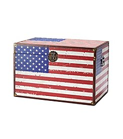 Living Quarters Americana Flag Trunk