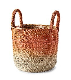 LivingQuarters Old Havana Ombre Seagrass Basket
