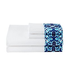 LivingQuarters Loft 225-Thread Count Cotton Percale Sheet Sets