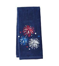 Living Quarters Fireworks Hand Towel
