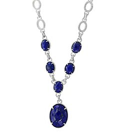 Effy® Sterling Silver Lapis Lazuli Necklace