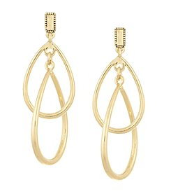 Laundry® Interlocking Drop Earrings