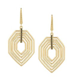 Laundry® Geometric Drama Drop Earrings