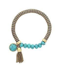 Jessica Simpson Semi Precious Strech Bracelet