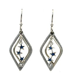 Silver Forest® Star Trio Earrings