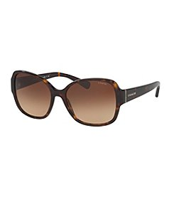 COACH LOGO SQUARE SUNGLASSES