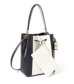 Lauren Ralph Lauren® Debby Color-Blocked Drawstring Bag
