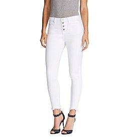 William Rast® High Rise Crop Jeans