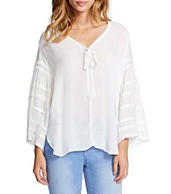 William Rast® Tie Front Blouse