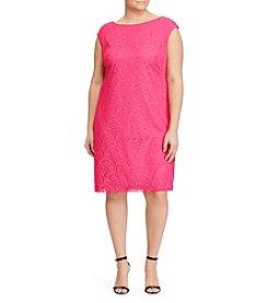 Chaps® Plus Size Matte Jersey Dress