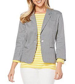 Rafaella® Gingham Jacket